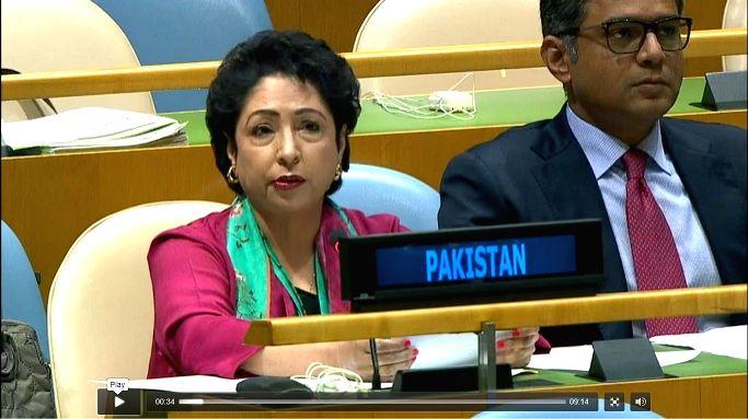 Pakistan's Permanent Representative Maleeha Lodhi. (Photo: UN)