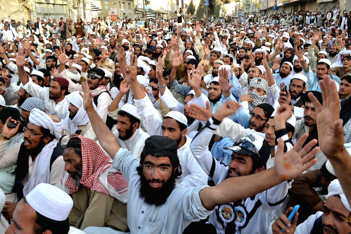 Pakistan to ban Ansar Ul Islam, a JUI-F outfit. (Xinhua/Asad/IANS)