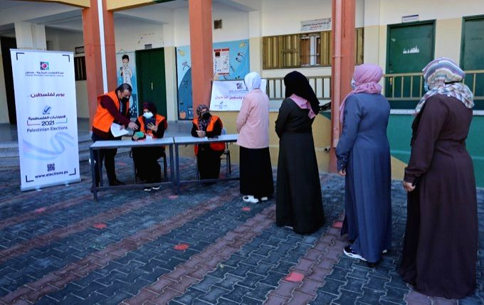 Palestine addresses letter to Israel on polls