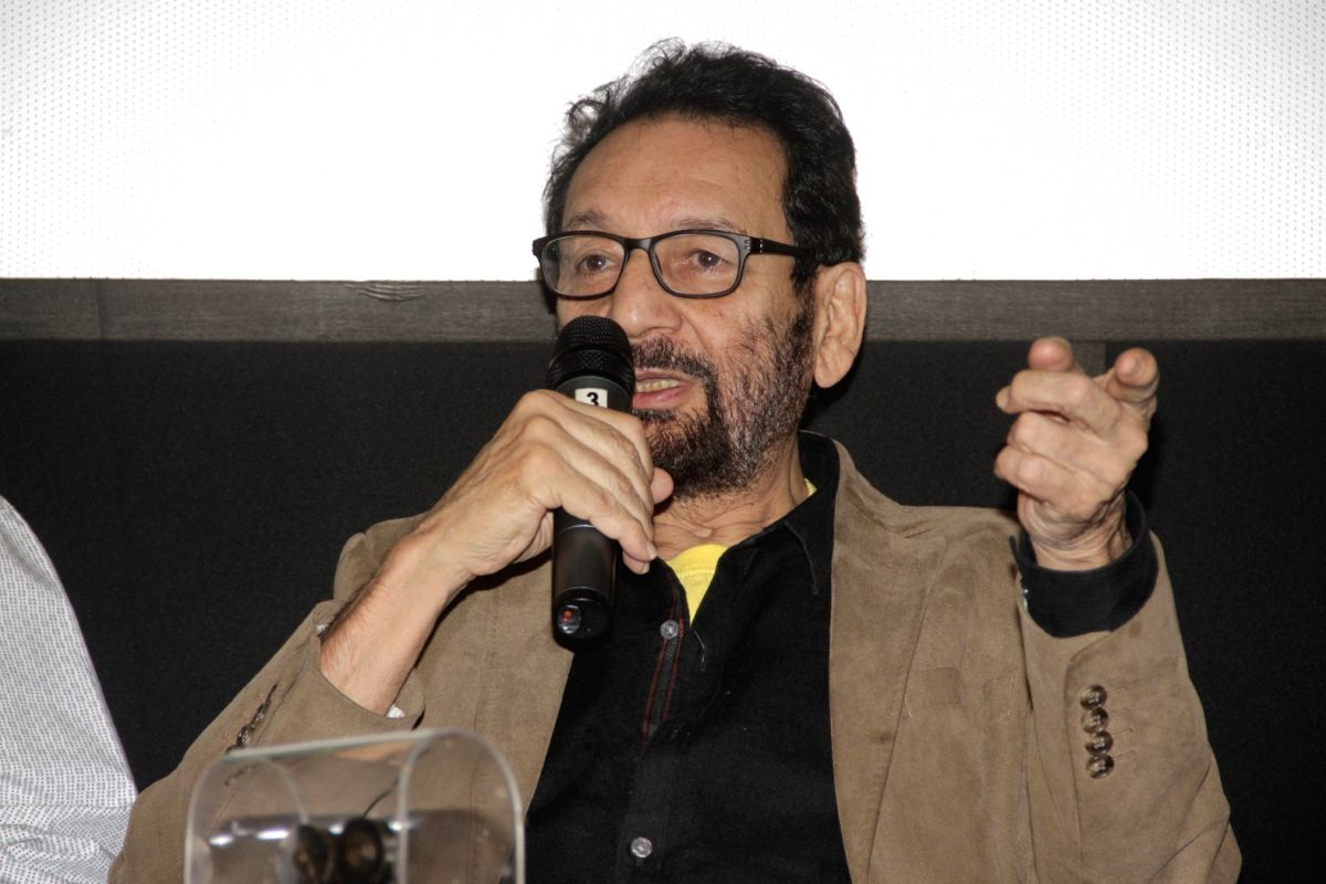 Panaji : Film Director Shekhar Kapur during the Digital Space Panel Discussion at 48th International Film Festival of India (IFFI-2017), in Panaji, Goa on November 25, 2017.