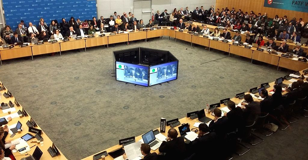 Paris: Day 1 of the Financial Action Task Force (FATF) Plenary meeting underway in Paris on Feb 21, 2018. Delegates are working through a full agenda that includes terrorist financing. (Photo: Twitter/@FATFNews)