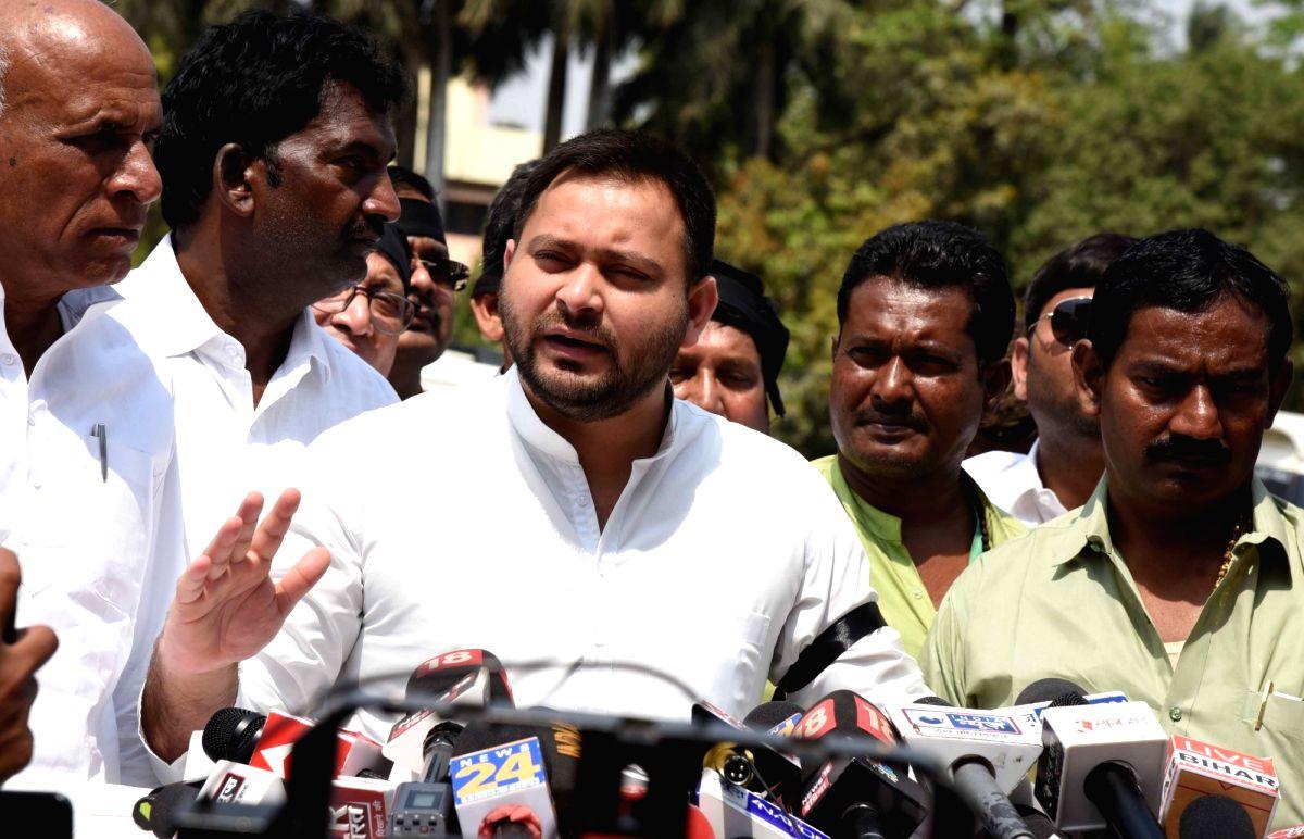 Tejashwi hits out at Nitish govt over 'poor health infrastructure'