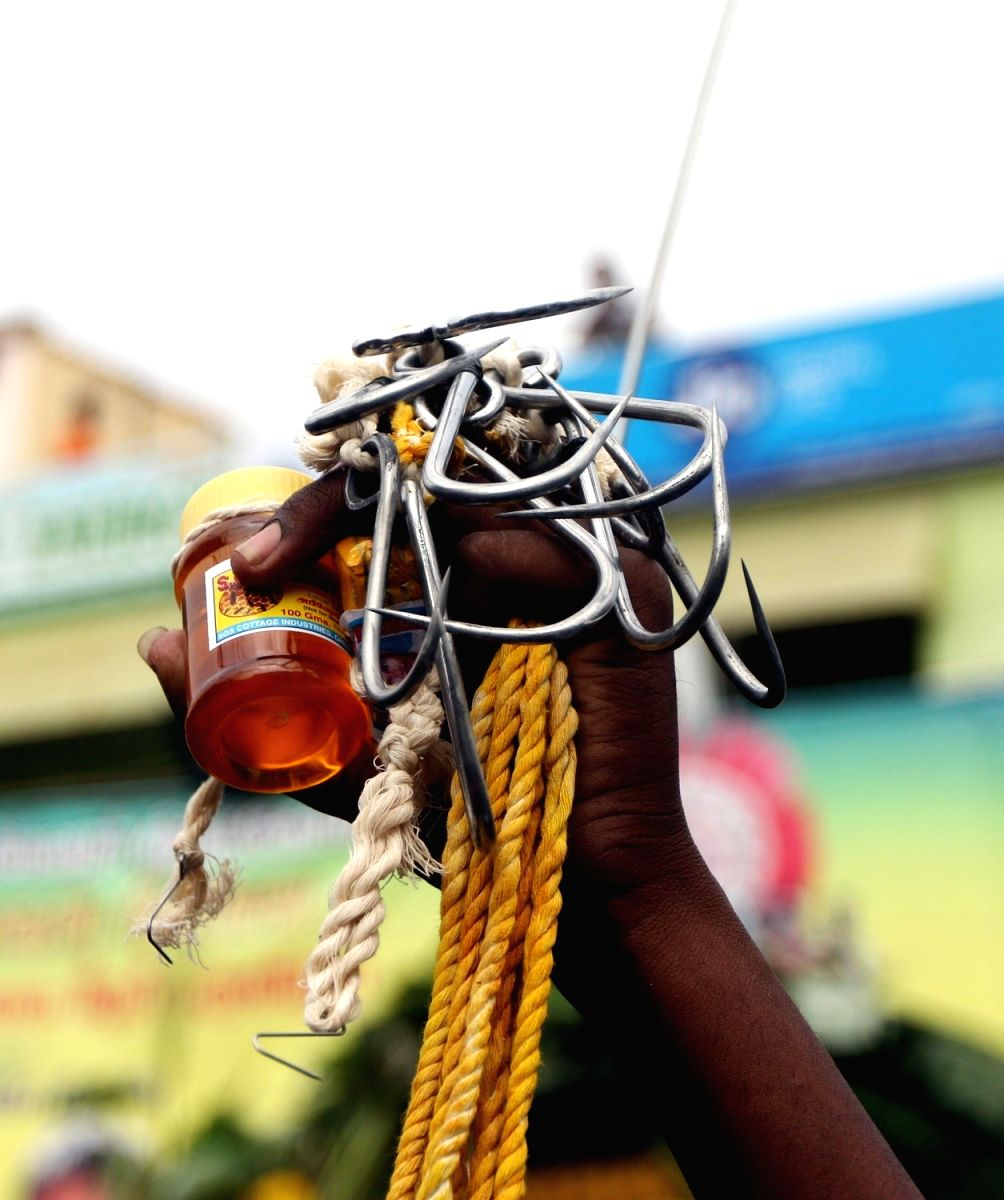 Accessories used for Thaipusam