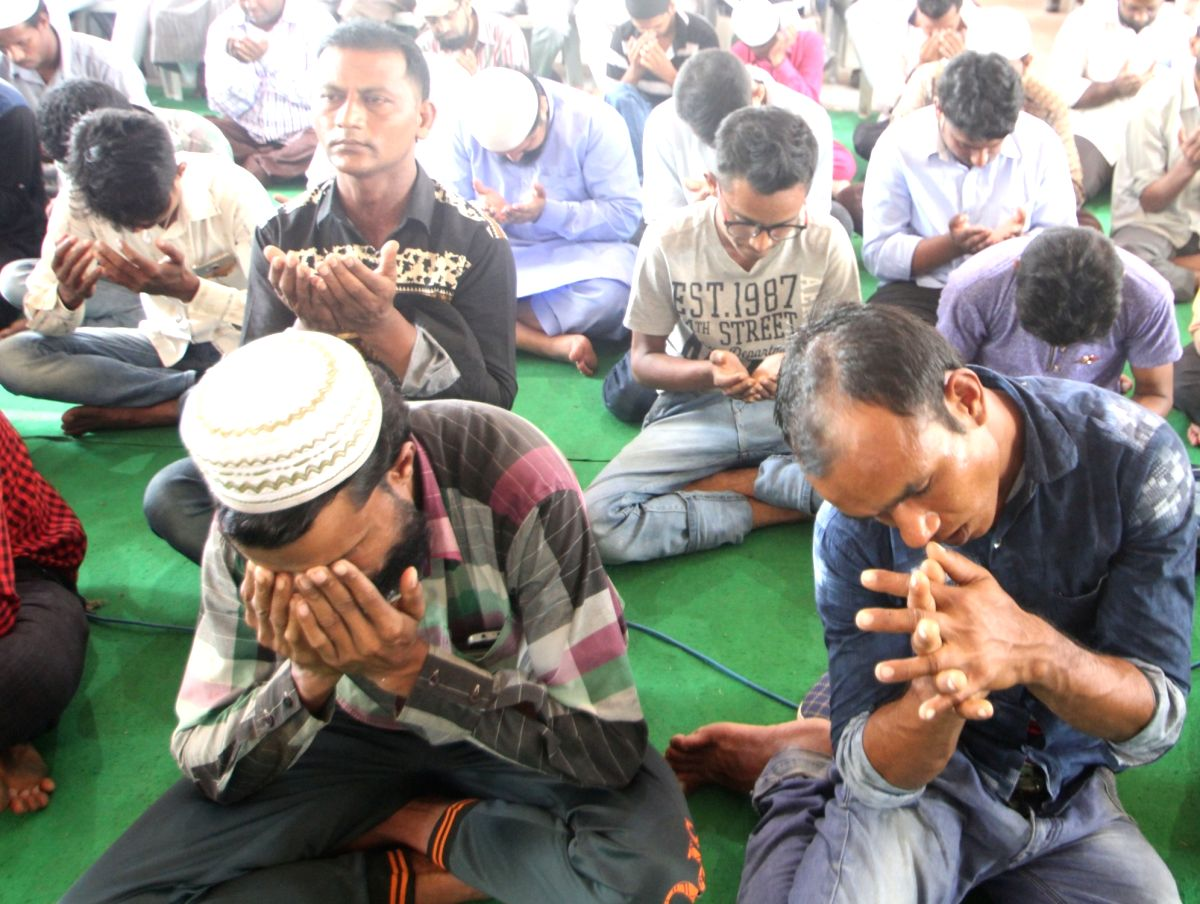 Atrocities against Rohingya Muslims - Muslim Organisation's All Party protest meet