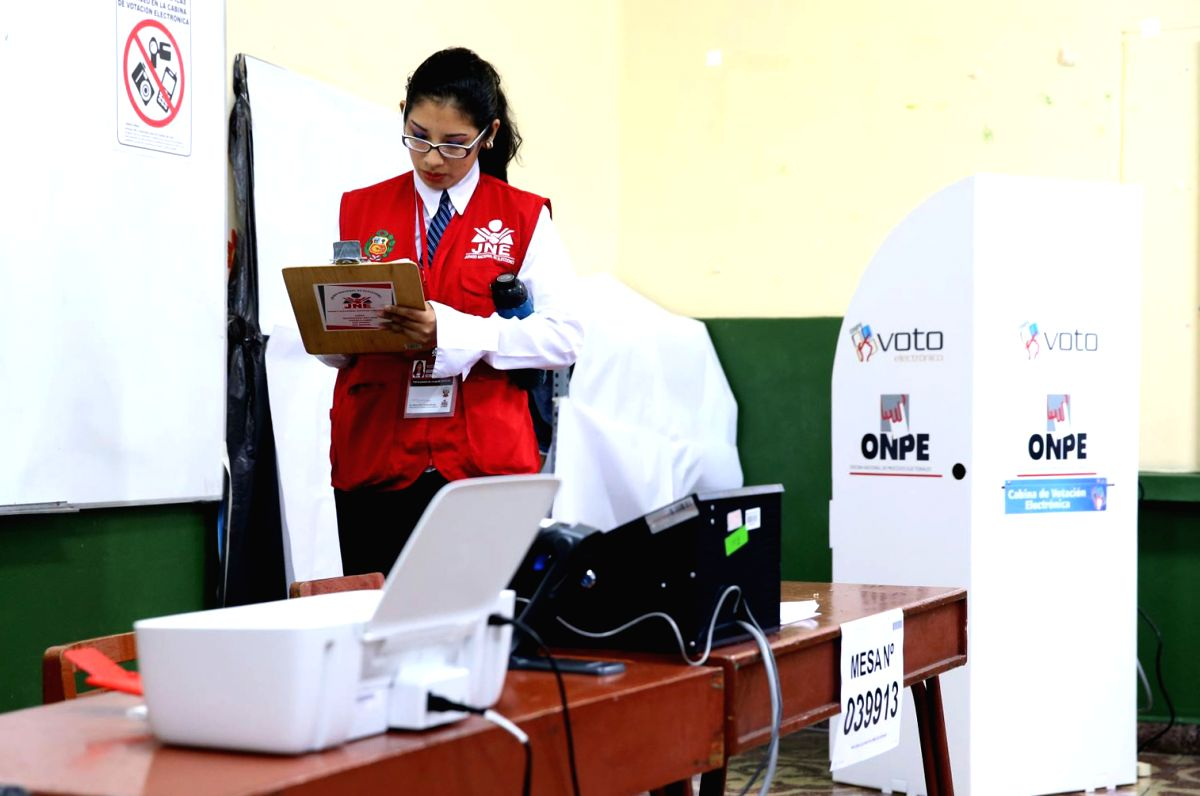 Peru Parliament divided with centre-right majority