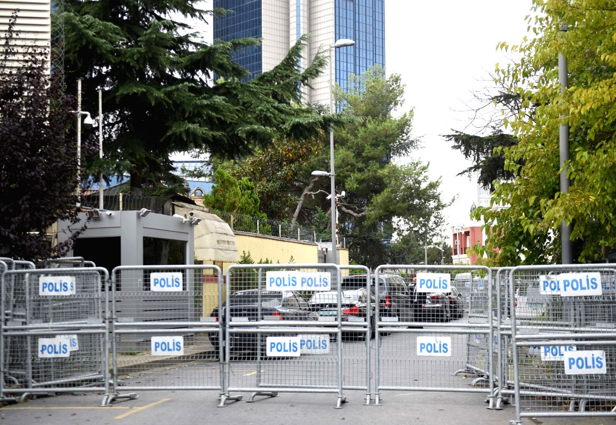 The Saudi consulate in Istanbul, Turkey