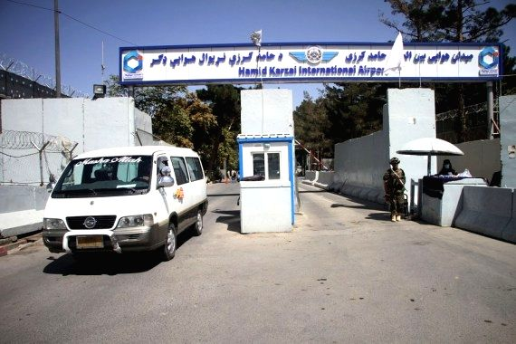 Kabul airport now ready for int'l flights: Taliban official