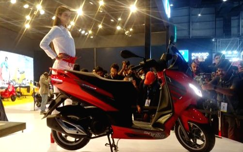 Piaggio India on Thursday unveiled premium scooter Aprilia SXR 160 which is slated for commercial launch in Q3, 2020.