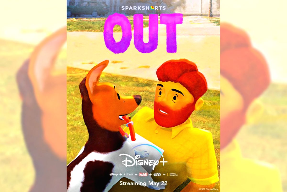 Pixar unveils its first gay lead character in animation genre.