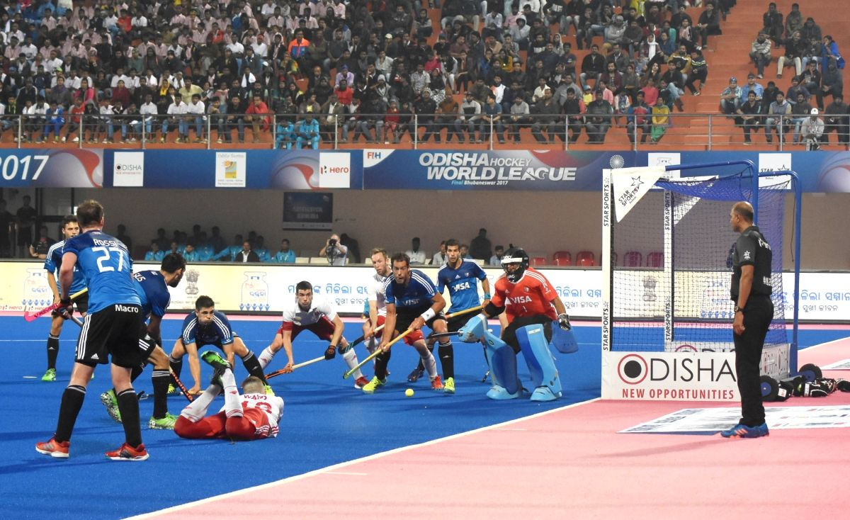 Hockey World League Final - Quarterfinal - England Vs Argentina