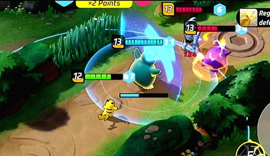 Pokemon Unite coming to iPhone in September.