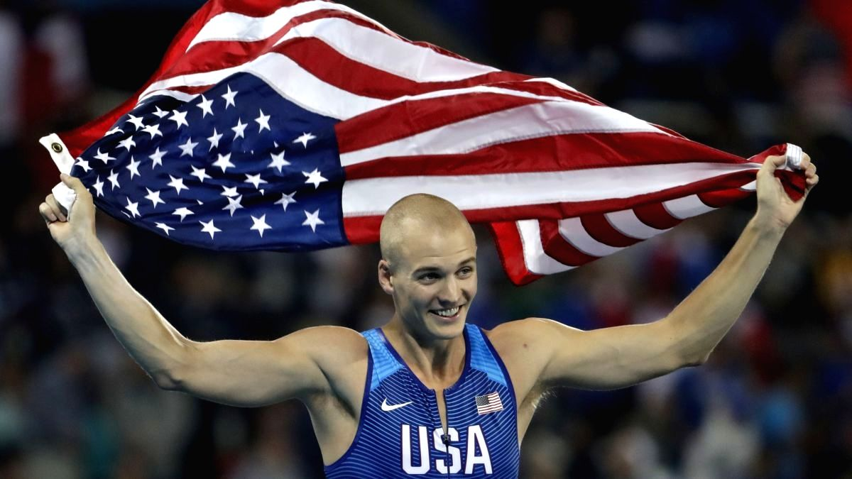 Pole vault world champ tests positive, ruled out of Games.