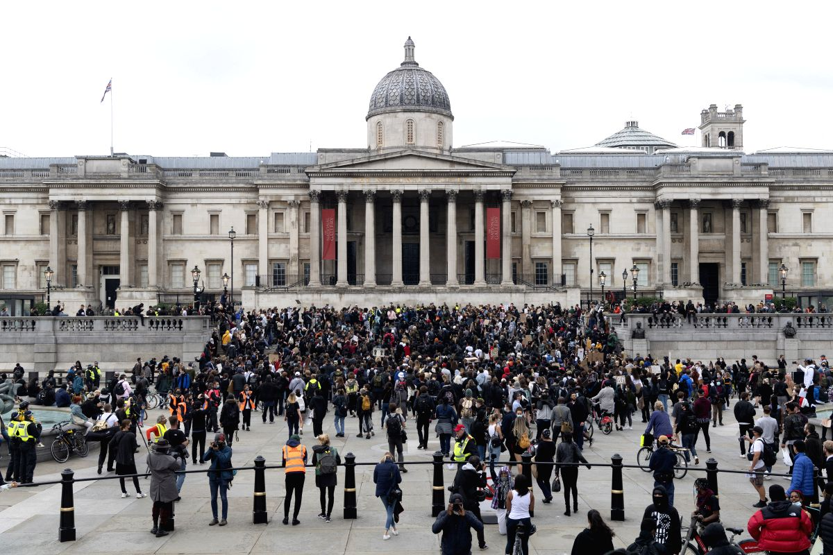 Police impose conditions ahead of London protests