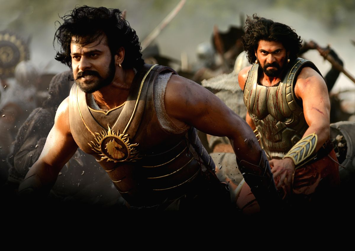 Poster of film Baahubali.