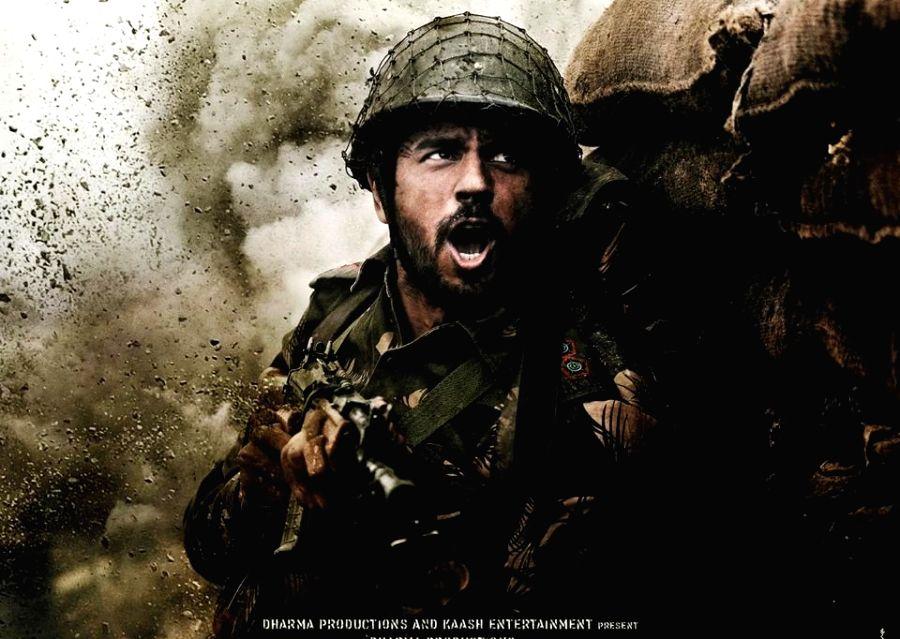 "Poster of Siddharth Malhotra starrer ""Shershaah"""
