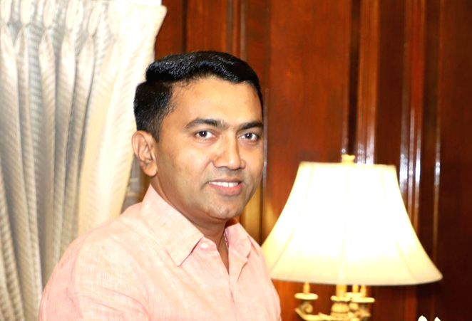 Pramod Sawant. (File Photo: IANS)