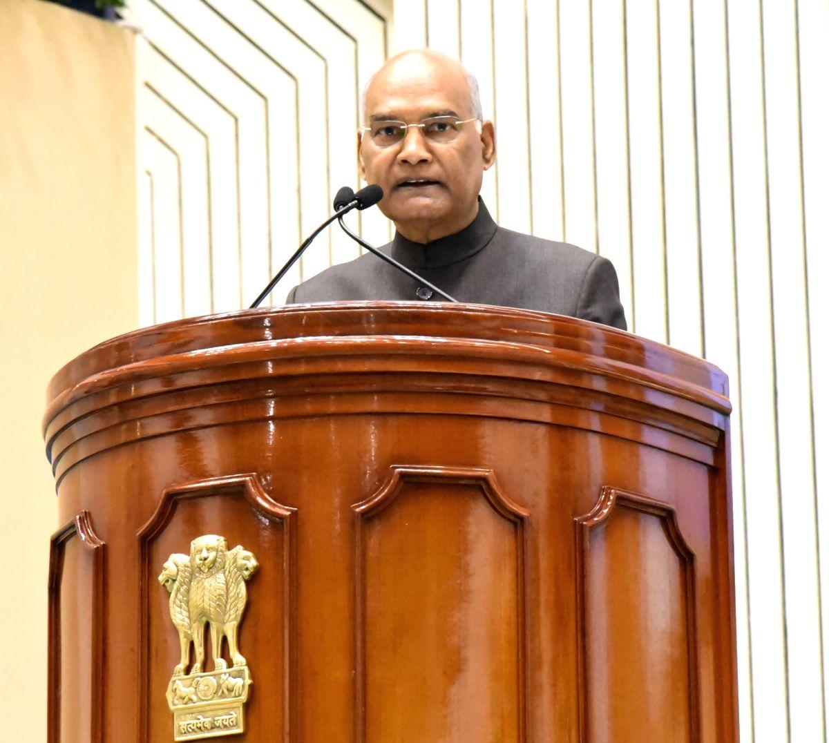 President Ram Nath Kovind. (Photo: IANS/PIB)
