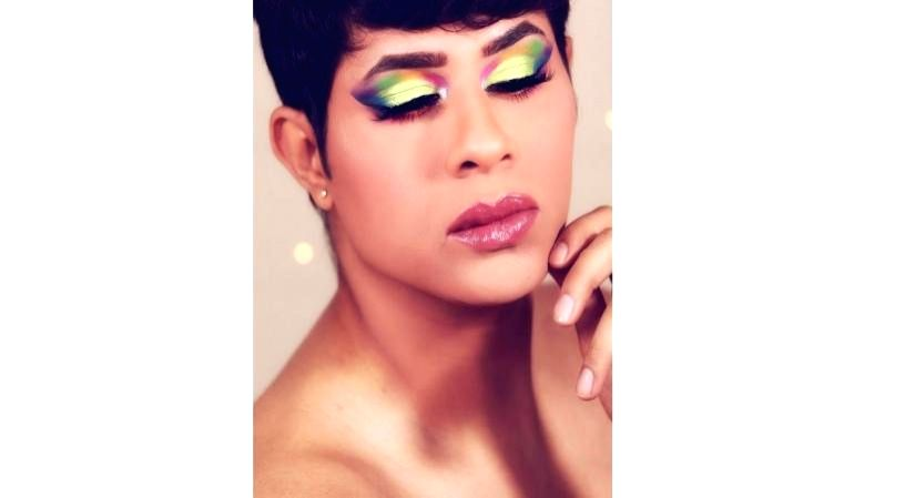 Pride Month: Of men and the rainbow hues of make-up
