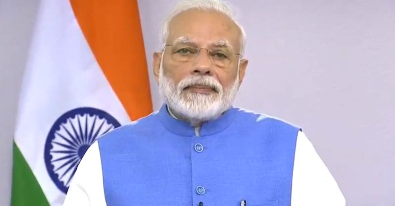 Prime Minister Narendra Modi addressed the nation and urged all Indians not to be complacent at faring better in containing the virus outbreak.