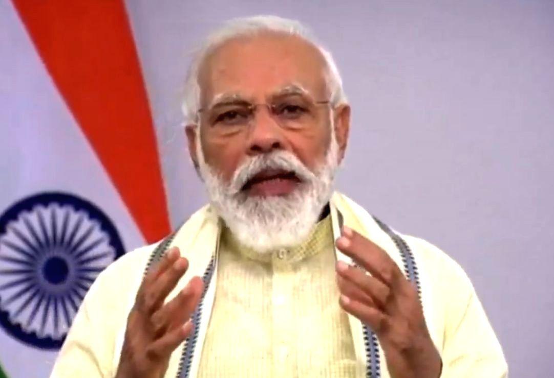 Prime Minister Narendra Modi .