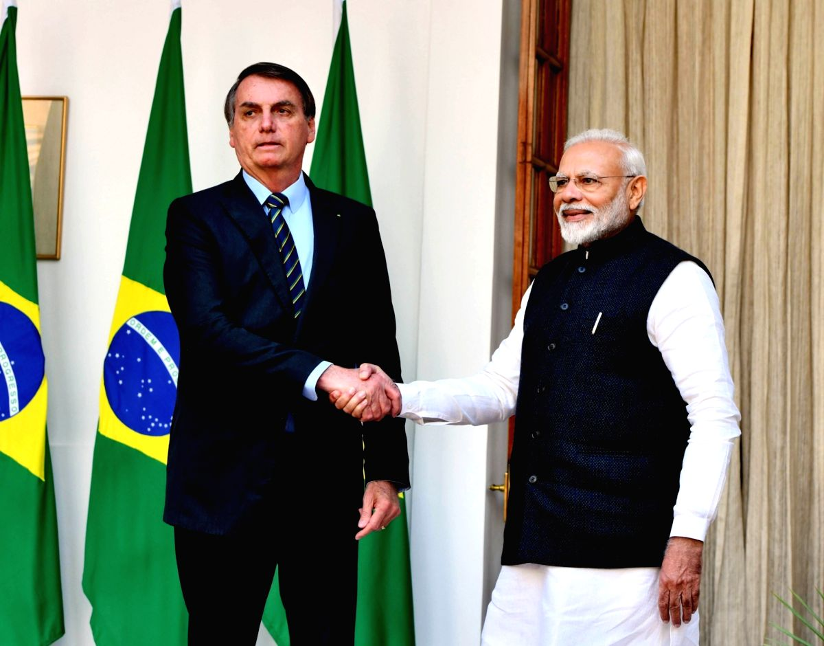 Bolsonaro says 'Dhanyavaad' to Modi for vaccine exports