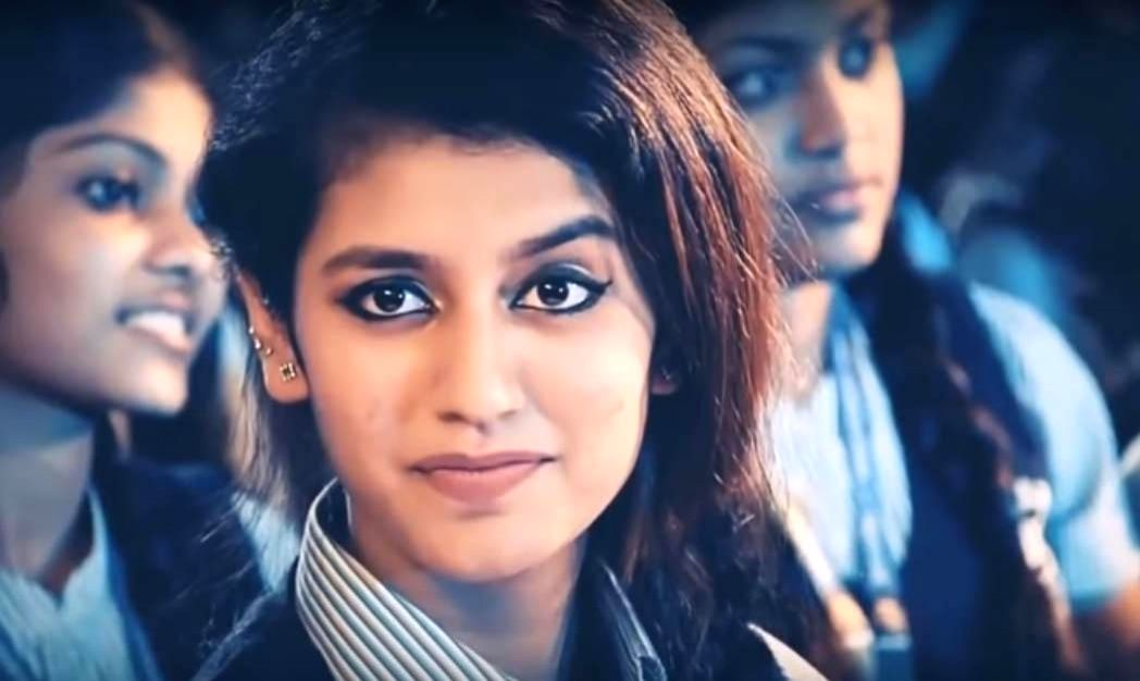 : Priya Varrier Prakash. (Photo: Video Grab).