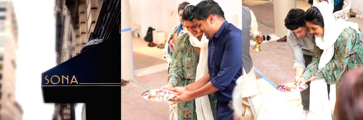 Priyanka Chopra opens Indian restaurant Sona in New York.(photo:Instagram)