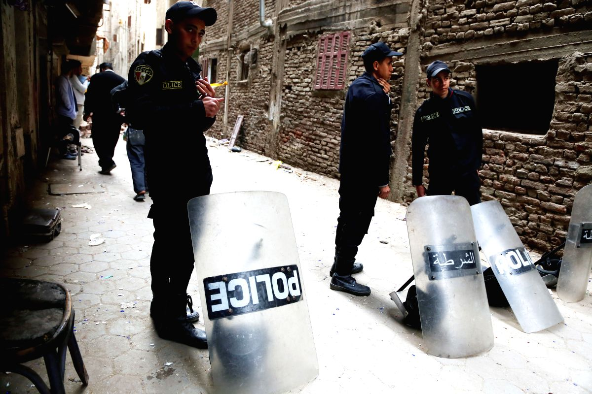 Probe ordered into protest of Egypt COVID-19 victim's burial