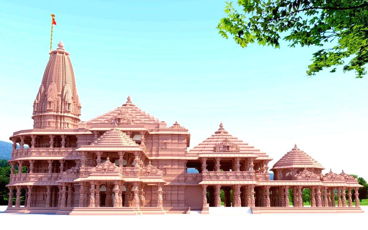 Proposed Shree Ram Janmabhoomi Tirth Kshetra in Ayodhya, Uttar Pradesh