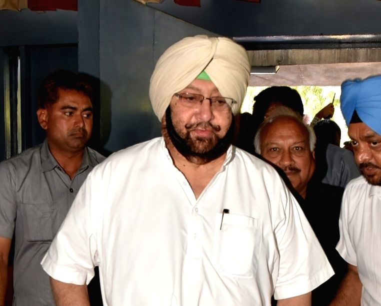 Punjab Chief Minister Captain Amarinder Singh. (File Photo: IANS)