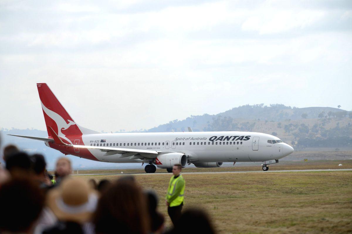 Qantas. (Xinhua/Justin Qian/IANS)