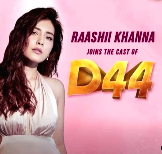 Raashii Khanna to feature with Dhanush in her next.