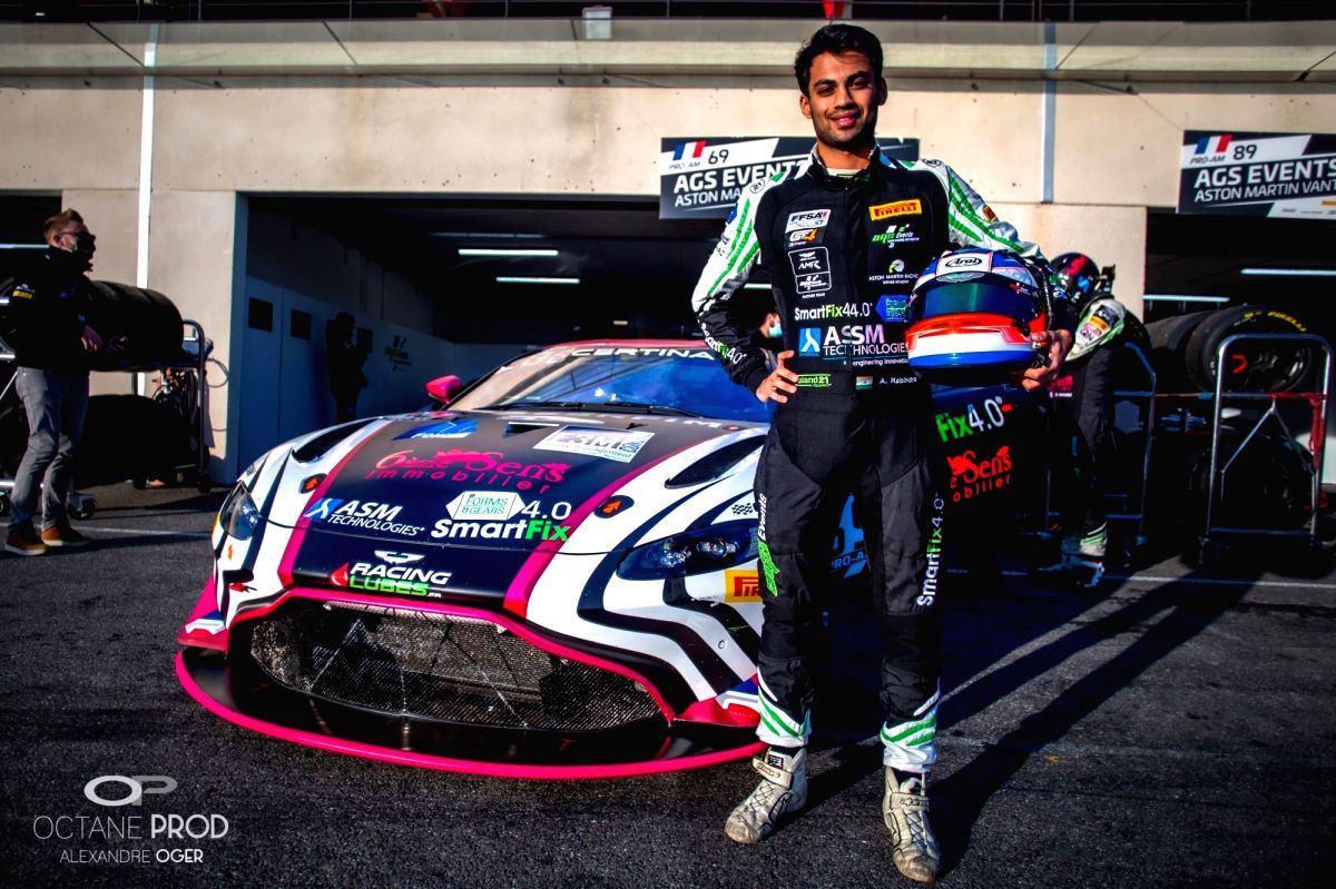Racer Rabindra geared up for European GT4 season