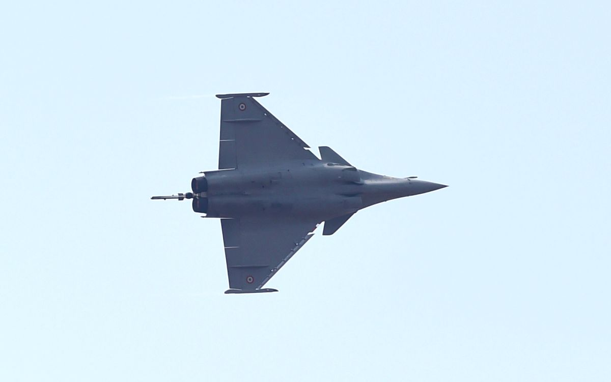 Rafale fighter. (File Photo: IANS)