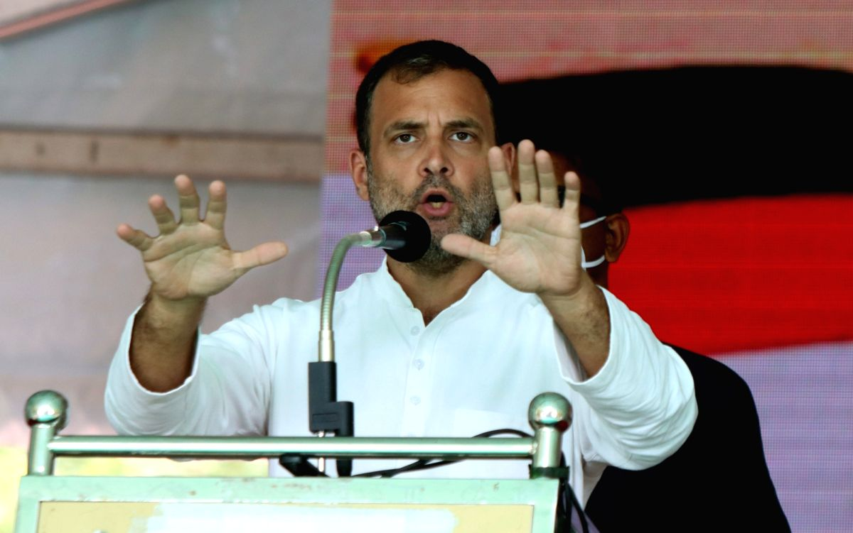 A crime has been committed against India: Rahul Gandhi