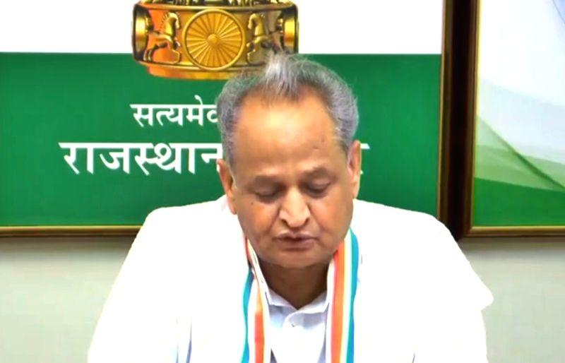 Rajasthan Chief Minister Ashok Gehlot .