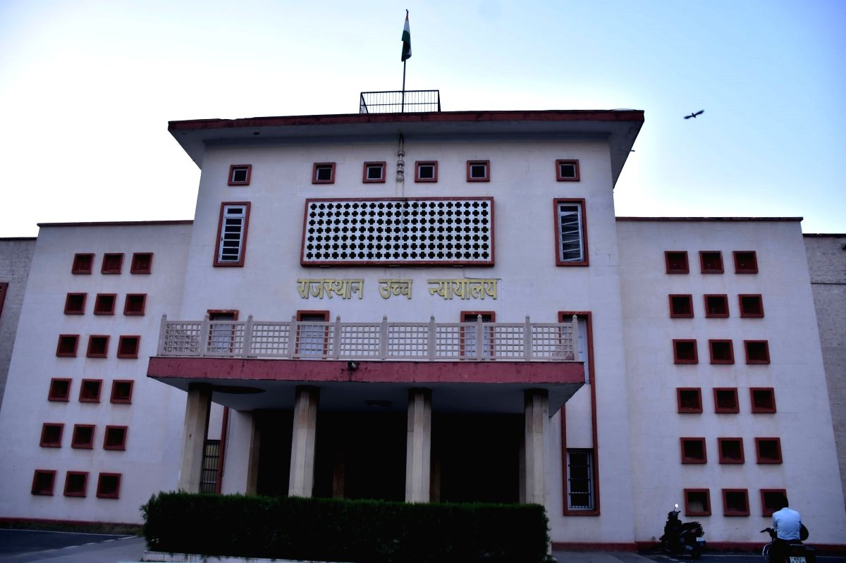 Rajasthan High Court. (File Photo: Ravi Shankar Vyas/IANS)