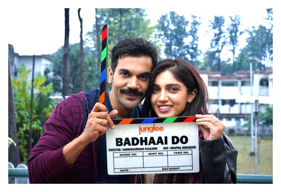 Rajkummar Rao and Bhumi Pednekar start Badhaai Do' shoot