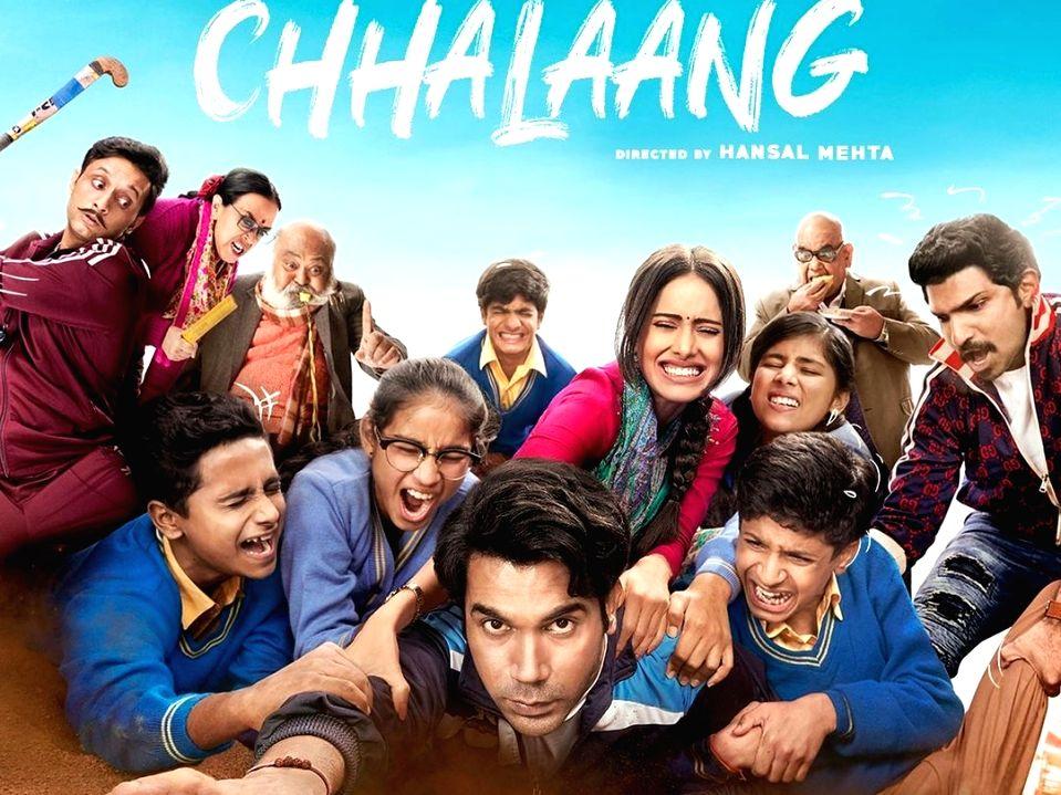 Rajkummar Rao drops the trailer of Chhalaang