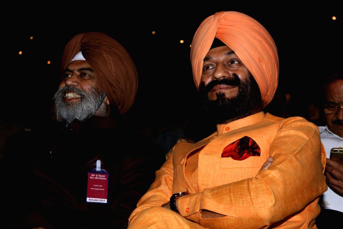 Maninderjeet Singh Bitta, chairman, All India Anti Terrorist Front