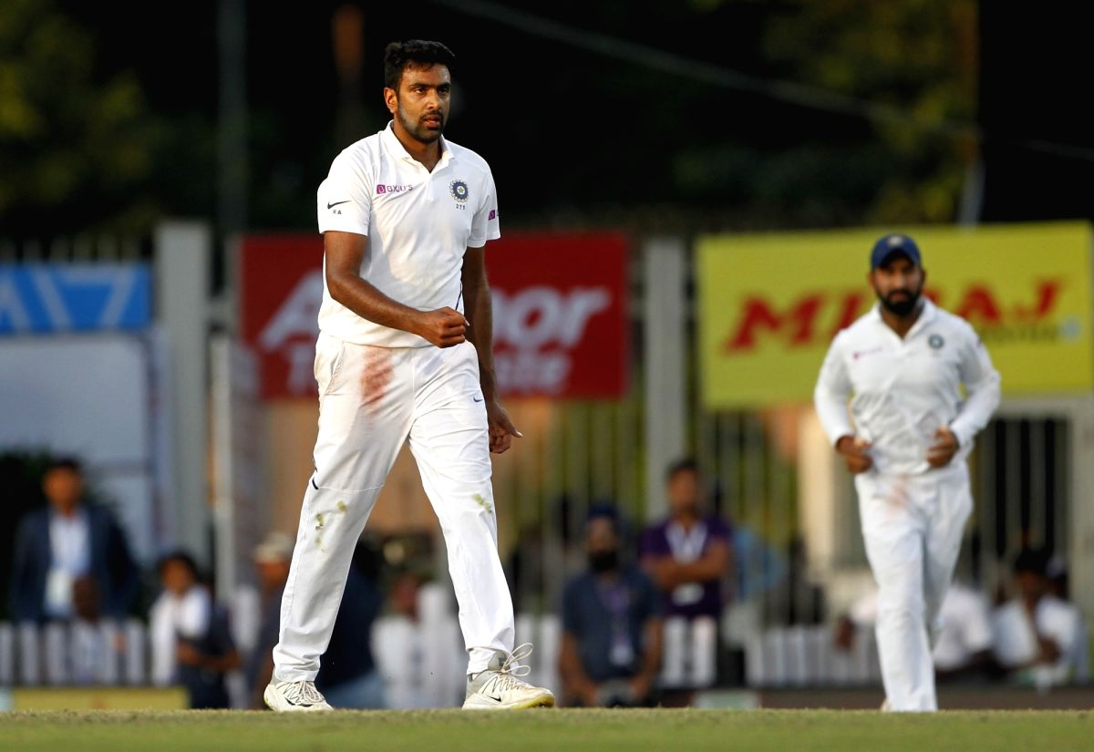 Ranchi: India's Ravichandran Ashwin on Day 3 of the 3rd Test match between India and South Africa at JSCA International Stadium Complex in Ranchi on Oct 21, 2019. (Photo: Surjeet Yadav/IANS)
