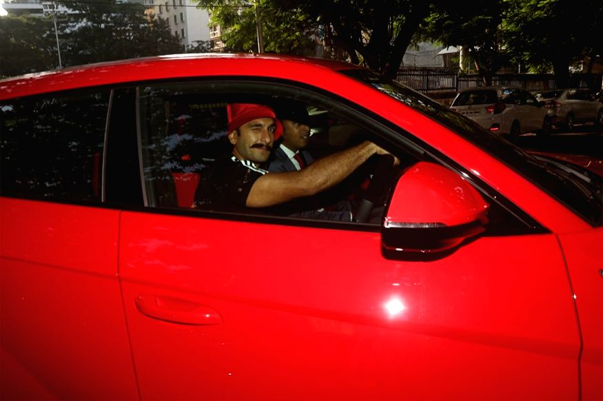 Ranveer Singh has bought a sparkling red Lamborghini Urus that has cost him Rs 3 crore.