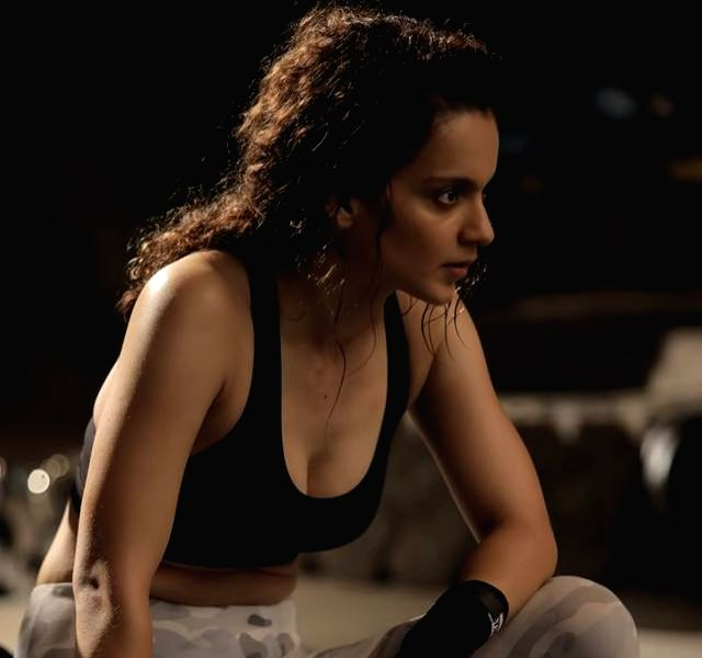Kangana Ranaut shares a glimpse of fight rehearsals for Dhakaad