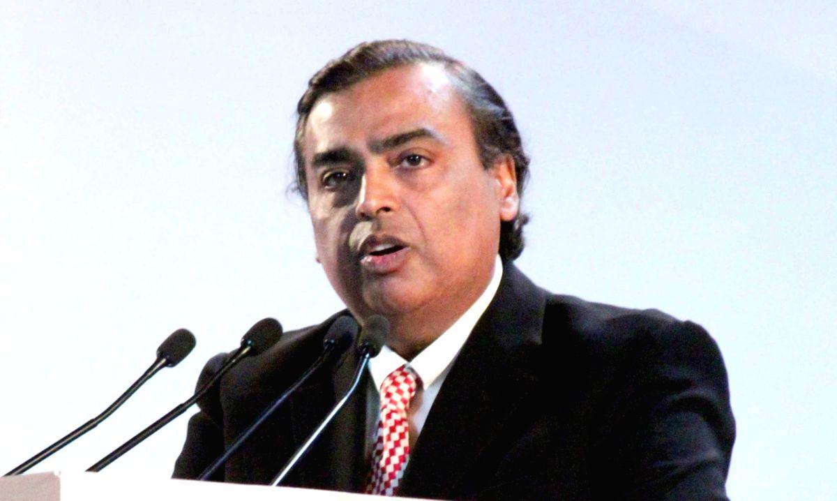 Reliance Industries Ltd (RIL) Chairman Mukesh Ambani.