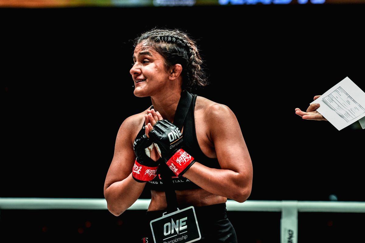 Ritu Phogat: Dream of World C'ship title in MMA not too far