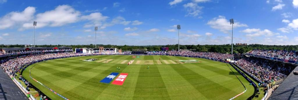 Riverside Ground in Chester-le-Street, England. (Photo Credit: Twitter/@cricketworldcup)