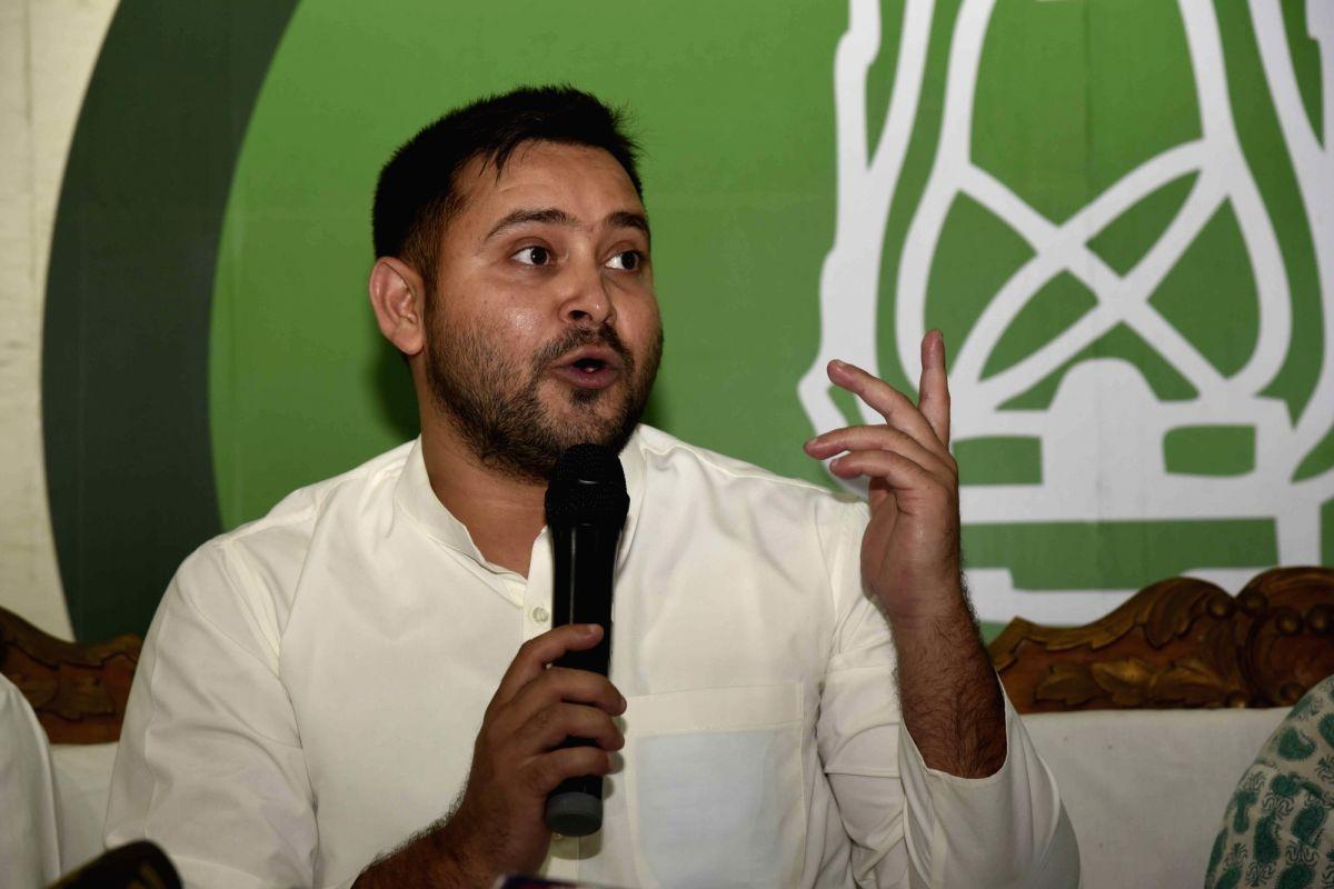 After Tejashwi's barb against CM, JD-U calls him 'Class 9 fail'
