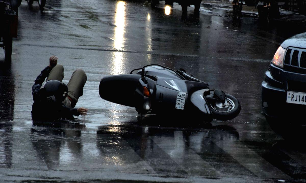 Road accident. (File Photo: IANS)