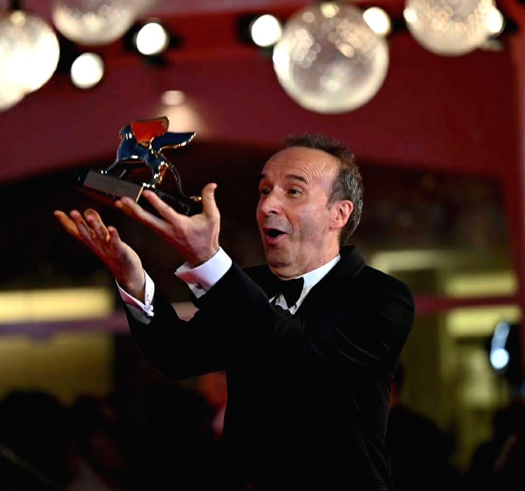 Roberto Benigni steals the show as Venice Film Festival begins.