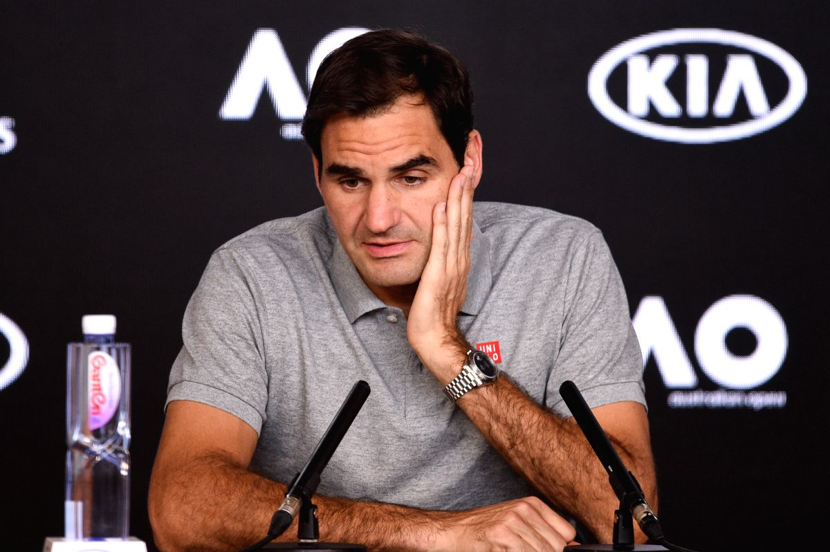 Roger Federer (Photo by Bai Xue/Xinhua/IANS)